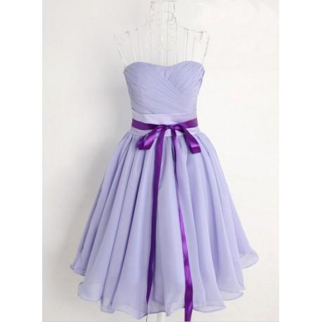 krátké fialové společenské šaty Baby XS-M