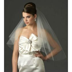 jemný tylový svatební závoj - výběr barev