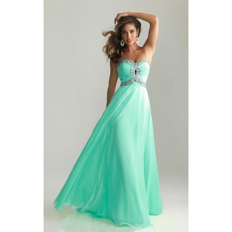 dlouhé plesové společenské tyrkysové šaty Ginger XS-S - Hollywood ... b1faa69424