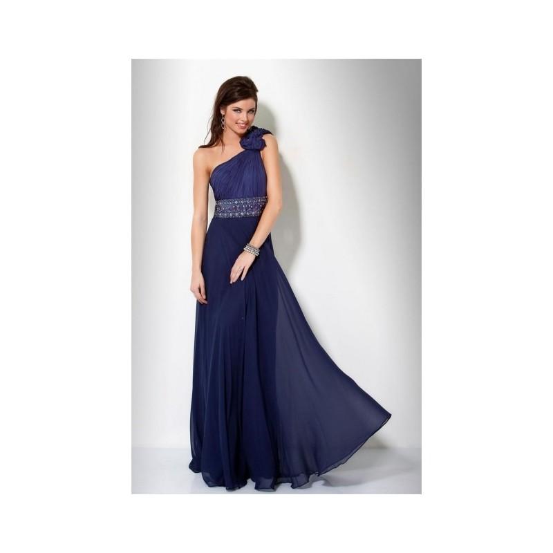 91728fb2251e tmavě modré plesové společenské šaty Arnica M - Hollywood Style E ...
