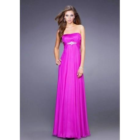 růžové společenské plesové šaty Suzan XL-XXL