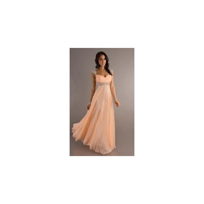 plesové šaty meruňkové Eleanor XXL-3XL - Hollywood Style E-Shop ... a9919a8f2d