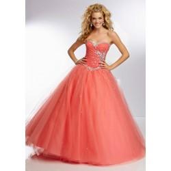 e67ed979bfb lososové plesové šaty na maturitní ples Dolce S-M