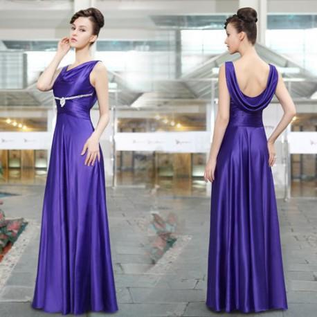 20cef9169bd1 luxusní fialové plesové společenské dlouhé šaty Silvia S - Hollywood ...