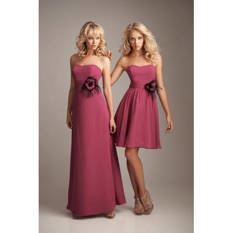 vínové tmavě červené společenské plesové šaty Feather M-L