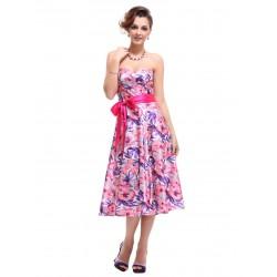 krátké barevné společenské letní šaty Zola S a L