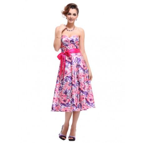 krátké barevné společenské letní šaty Zola S a L - Hollywood Style E ... b7534dede9