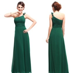 luxusní dlouhé společenské zelené šaty Luna XXXL