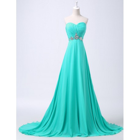 150bf7d3cd8 dlouhé tyrkysové plesové společenské šaty Linda XS-M - Hollywood ...