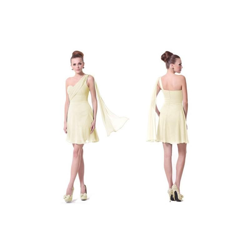 c218c3671d78 krátké béžové společenské šaty na jedno rameno Scoty L