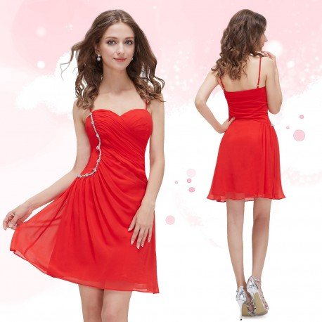 2f6d1d6457c2 krátké červené společenské šaty koktejlky 3XL - Hollywood Style E ...