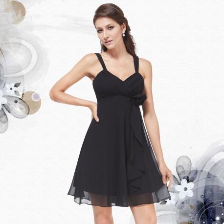 černé krátké společenské šaty Dorothy XS, L
