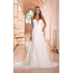 luxusní antické svatební šaty pro baculky 3XL-4XL
