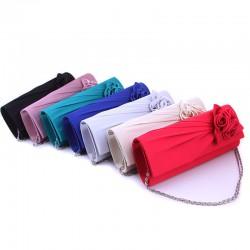 luxusní společenská kabelka - krémová