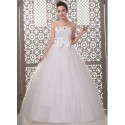 bílé tylové svatební šaty Domenica XXL-3XL