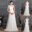 jednoduché antické svatební šaty Veronica XS-S