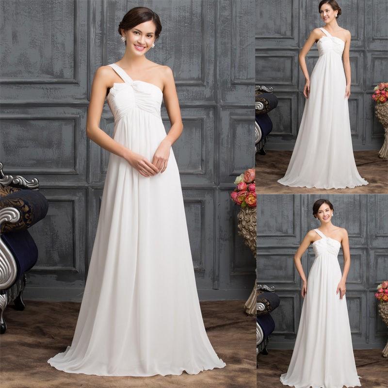VÝPRODEJ antické svatební šaty na jedno ramínko 3d0600d539f