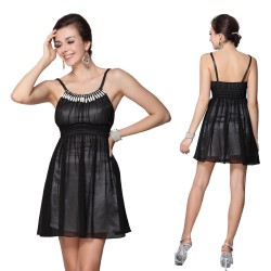 754b8d7d9cc krátké černé společenské šaty Fiona L
