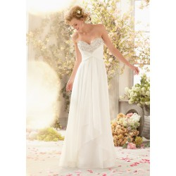antické svatební šaty s holými zády Wanda XS