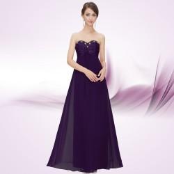 tmavě fialové společenské šaty Arabica S
