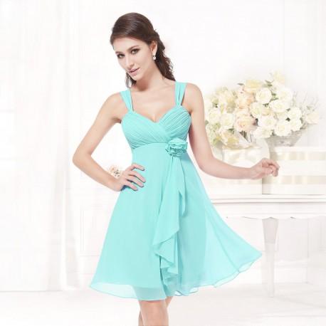 e955207df světle modré krátké společenské šaty Dorothy L - Hollywood Style E ...