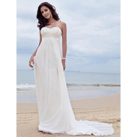 bílé antické svatební šaty pro baculku nebo těhulku, velikost 50 4XL-6XL