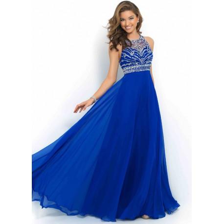 námořnicky modré plesové společenské šaty na maturitní ples Drusila ... dd86db4d32