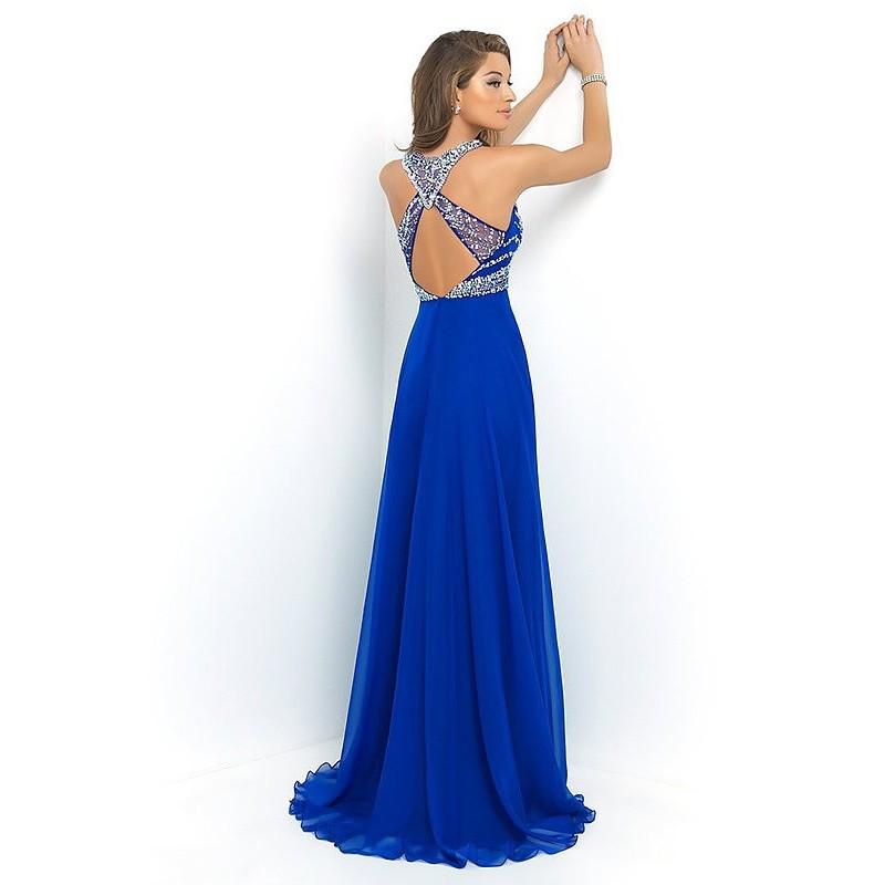 ... námořnicky modré plesové společenské šaty na maturitní ples Drusila S 05d5c4a7c1