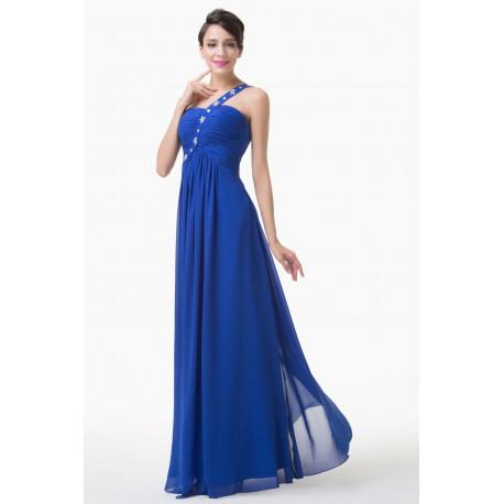 tmavě modré antické plesové šaty Salamandra XL-XXL