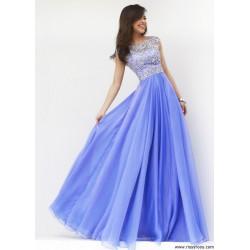 světle fialové plesové šaty antické Livia S