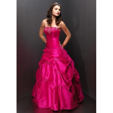 princeznovské růžové plesové šaty Pinky M-L - Hollywood Style E-Shop ... 907021958f