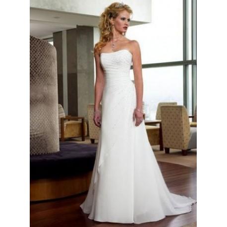 jednoduché antické svatební šaty Vilma  XL-XXL