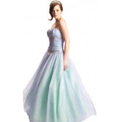 luxusní duhové plesové šaty na maturitní ples Noble S