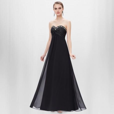 dlouhé černé společenské šaty Arabica XS, S