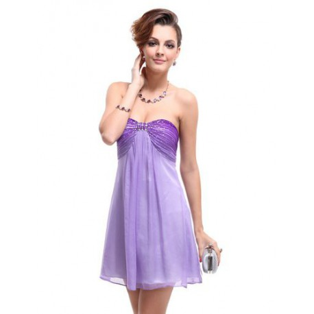8f97ba6e559c krátké fialové společenské šaty Violeta S - Hollywood Style E-Shop ...