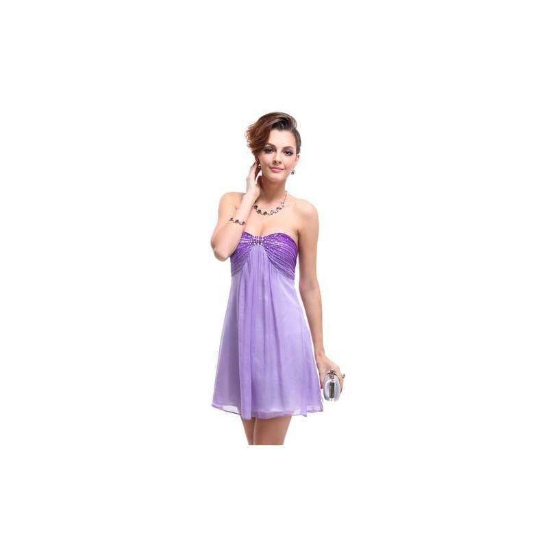 99273dbfb8b krátké fialové společenské šaty Violeta S