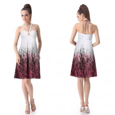 krátké letní barevné šaty Livua XS