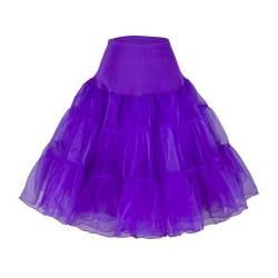 krátká spodnice pod krátké společenské nebo svatební šaty - fialová