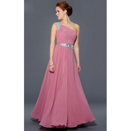 c9c35a50bc34 světle růžové antické plesové šaty Linda M-L - Hollywood Style E ...