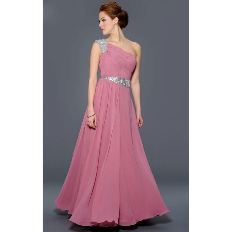 ae9bacec7024 světle růžové antické plesové šaty Linda M-L - Hollywood Style E ...