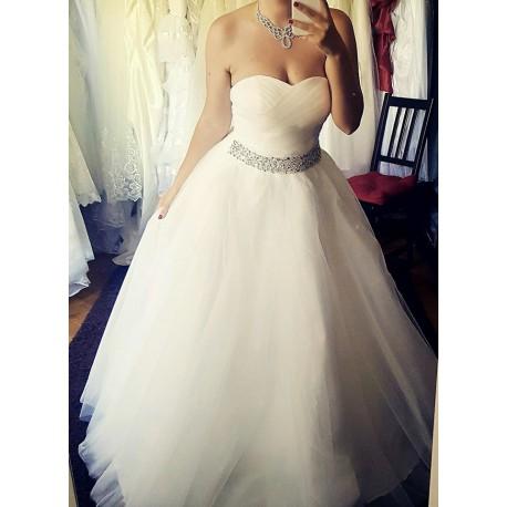 845a628d0e8 luxusní svatební šaty organzové Petronna S-M - Hollywood Style E ...