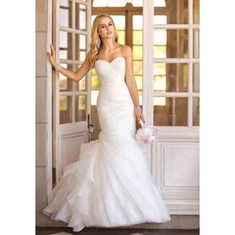 úplé bílé svatební šaty Ricca S-M