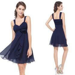 tmavě modré krátké společenské šaty Dorothy XXL