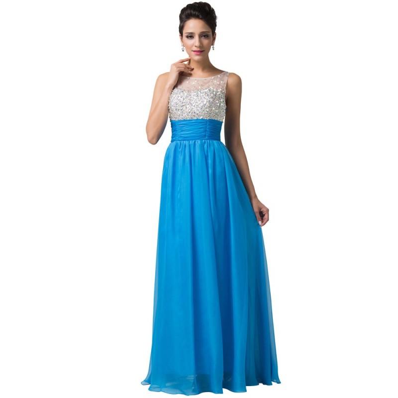 b80097a8297c modré plesové šaty Rebecca XS - Hollywood Style E-Shop - plesové a ...