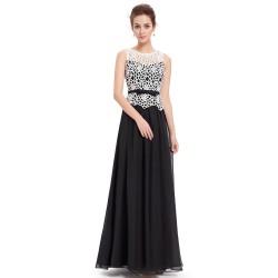 černé společenské šaty dlouhé Amanda L