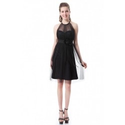 krátké černé společenské šaty Lota M