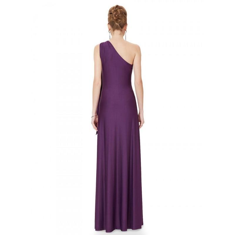 tmavě fialové dlouhé společenské šaty XXL - Hollywood Style E-Shop ... 15c45db688
