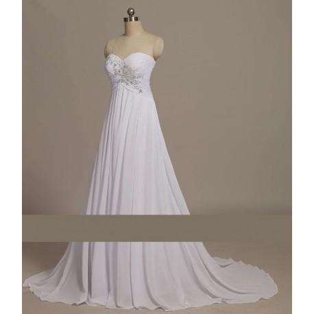 antické svatební šaty bílé Roberta S - Hollywood Style E-Shop ... 35fcda2e0b