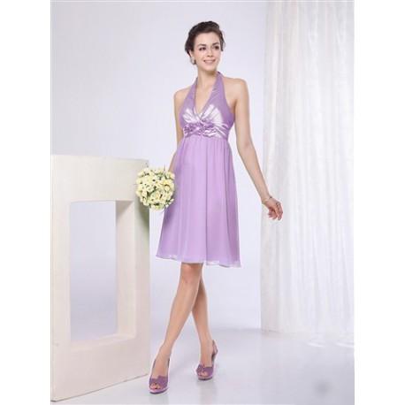 8ee4567880c1 krátké fialové společenské šaty L - Hollywood Style E-Shop - plesové ...