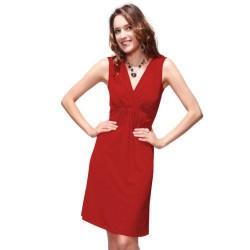 krátké červené společenské šaty Ruby XXL-XXXL